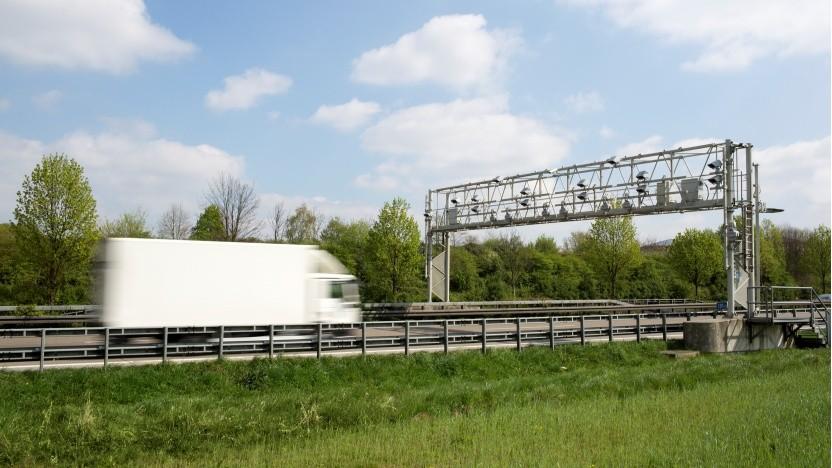 Kontrollbrücke von Toll Collect