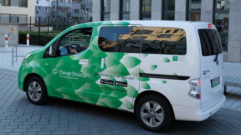 Nicht Teil der neuen Routenplanung: der Ridesharing-Dienst Clevershuttle
