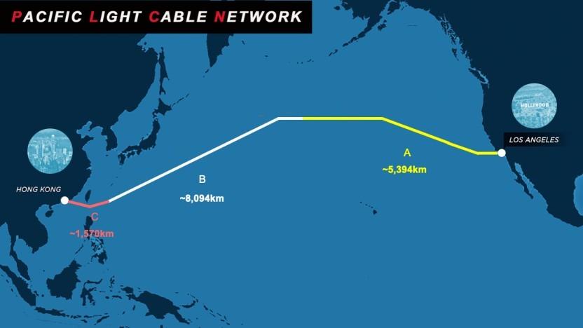 Das fast fertige Pacific Light Cable Network