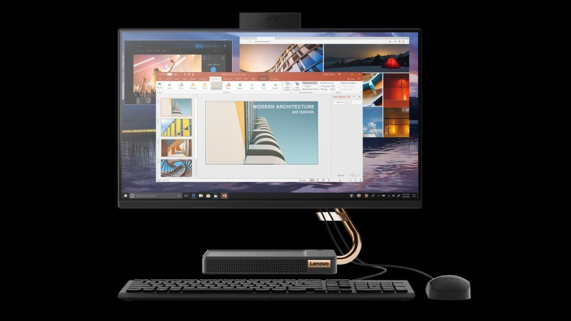 Lenovo verbaut AMD Picasso im All-in-One.