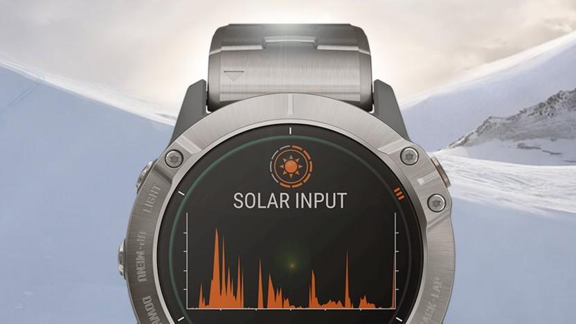 Artwork der Garmin Fenix 6X Pro Solar