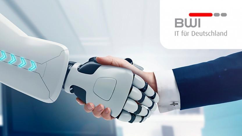 Robotergestützte Prozessautomatisierung (RPA) kann menschliche Kollegen entlasten.