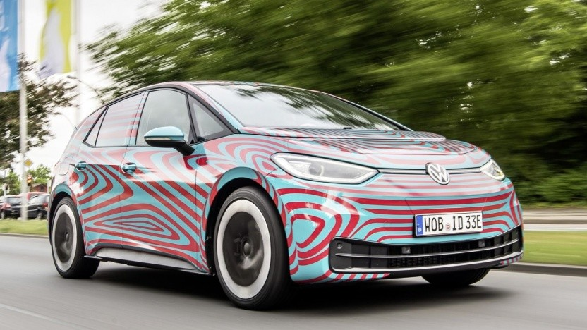 VW ID.3: Weitere Elektroautos folgen in kurzen Abständen.