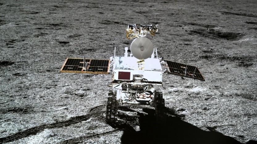 Chinesischer Mondrover Yutu 2: Fahrt unterbrochen