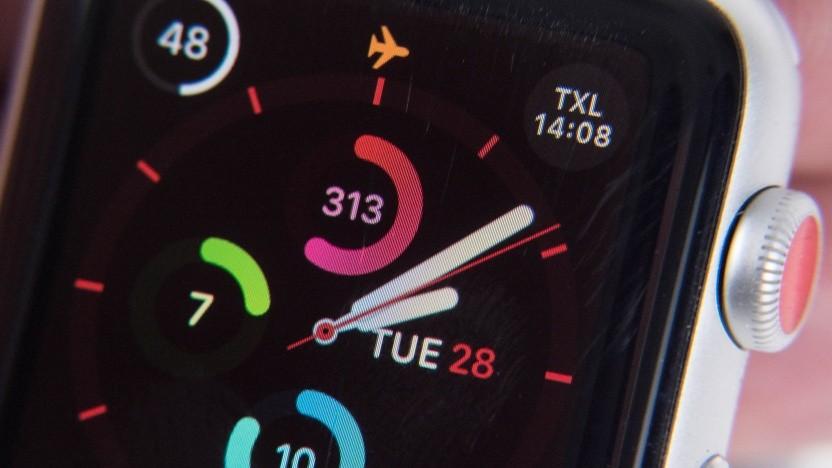 Bei der Apple Watch Series 3 kann es einen Displayschaden geben.