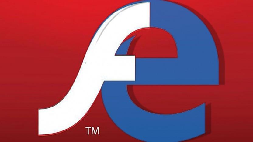 Adobe Flash wird auch auf Microsoft-Browsern eingestellt.