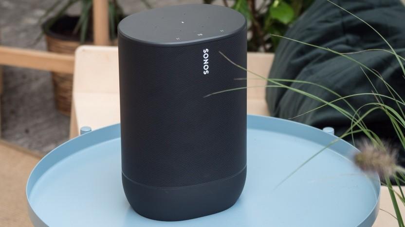 Sonos Move hat einen Akku eingebaut (Video).