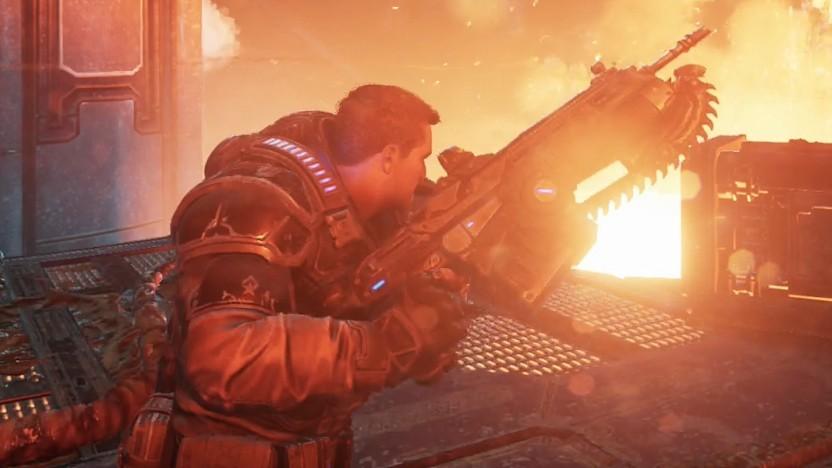 Explosionen gehören in Gears 5 zum Heldenalltag.