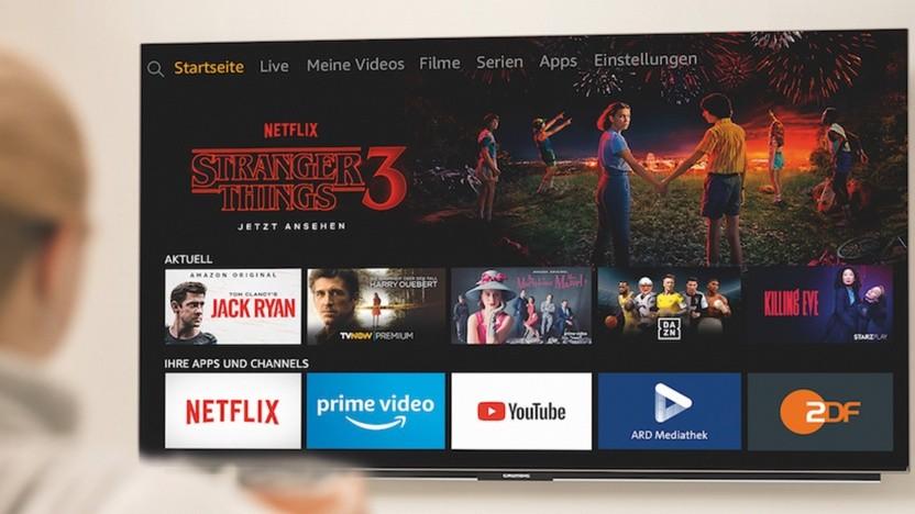 Grundig bringt Smart-TVs mit Fire TV Edition