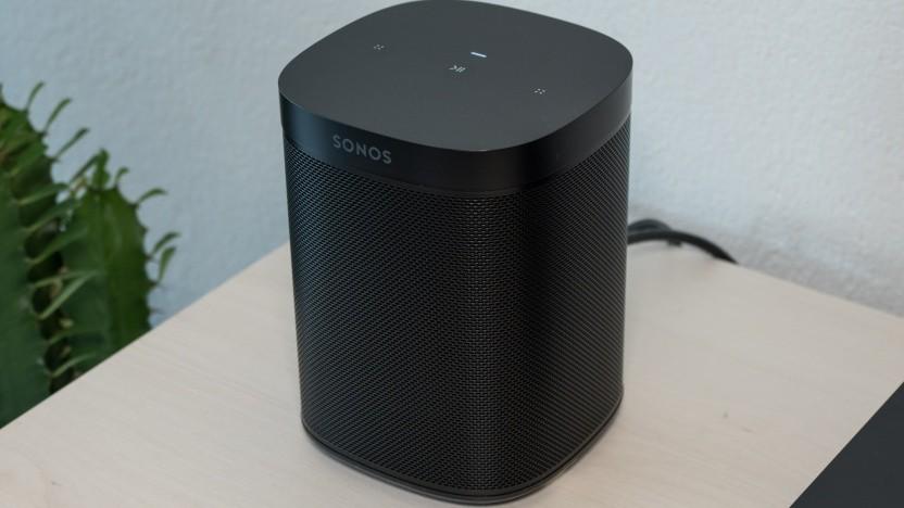 Der One SL von Sonos hat keine Mikrofone.
