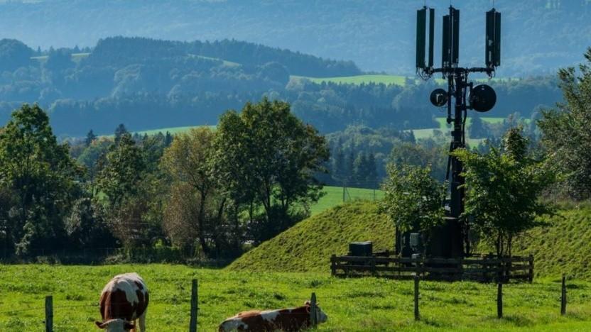 Netzausbau der Telekom auf dem Land
