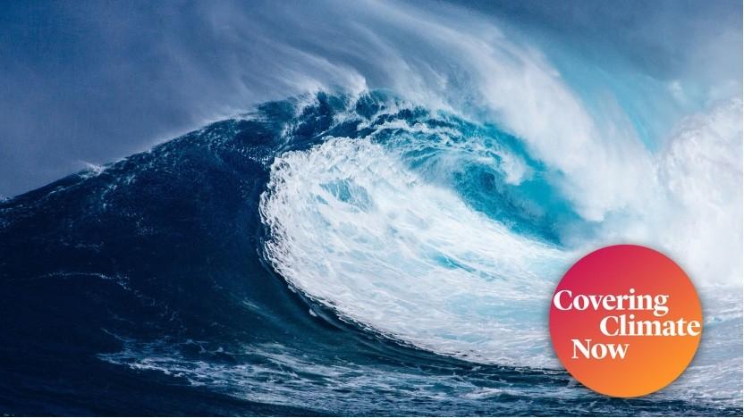 Welle (Symbolbild): Strom aus dem Meer