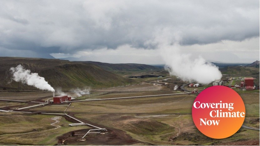 Das Geothermiekraftwerk Bjarnarflag in Island: Die Zahl von Geothermie-Kraftwerken wächst ständig.