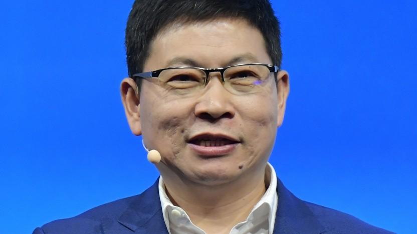 Huawei-CEO Richard Yu auf der Ifa 2019