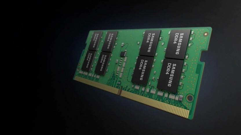Symbolbild eines DDR4-Speichermoduls