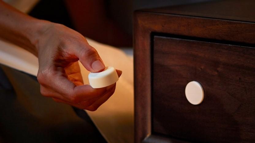 Der Smart Button ist besonders klein.
