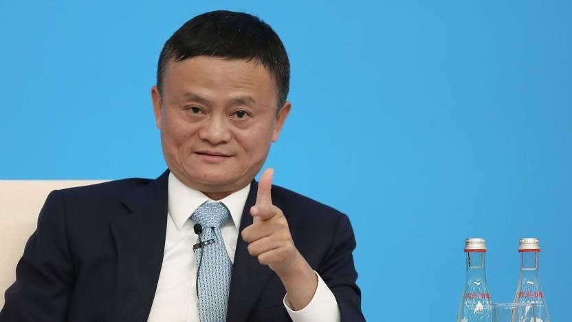 Der Gründer von Alibaba, Jack Ma