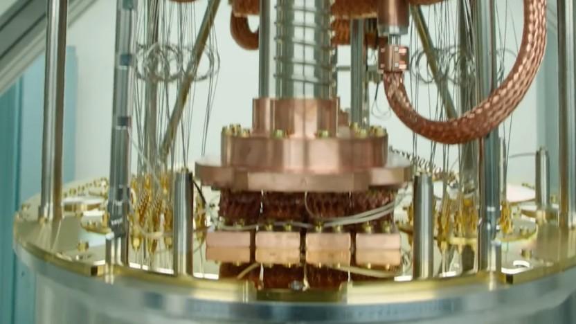 Quantencomputer müssen stark gekühlt werden.