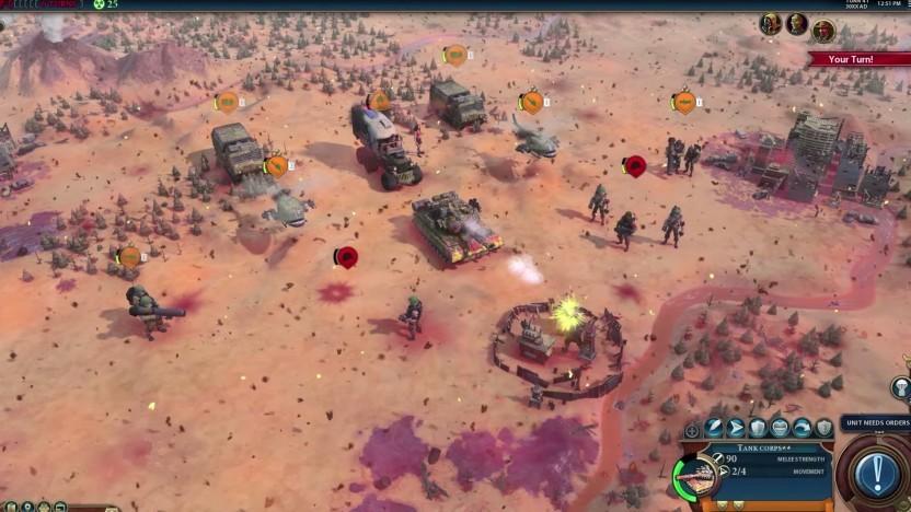 Artwork aus Civilization 6 - Red Death