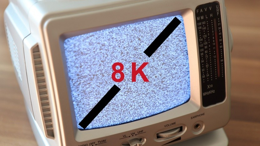 8K auf kleinen Bildschirmen wird wohl erst einmal nicht Standard.
