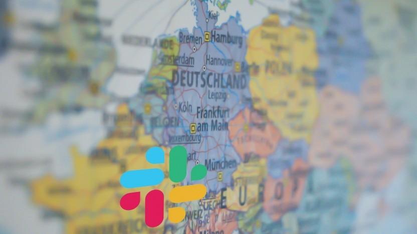Slack will Daten in Frankfurt am Main speichern.