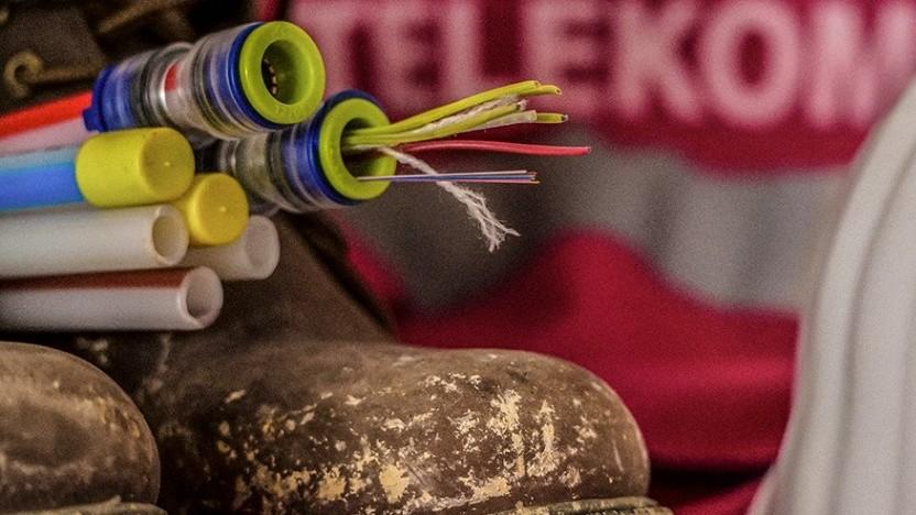 Netzausbau der Telekom (Symbolbild)