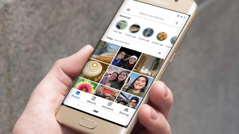 Google Fotos mit neuer Memories-Funktion