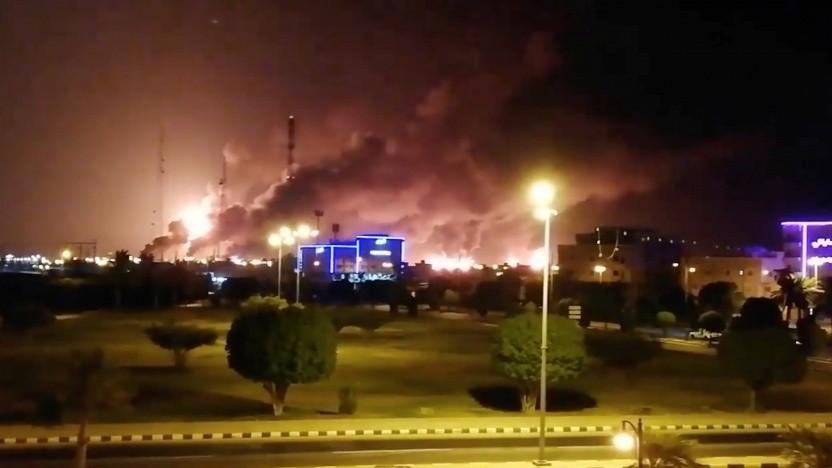 Saudi-Arabien: Drohnenangriffe legen halbe Erdölproduktion lahm - Golem.de