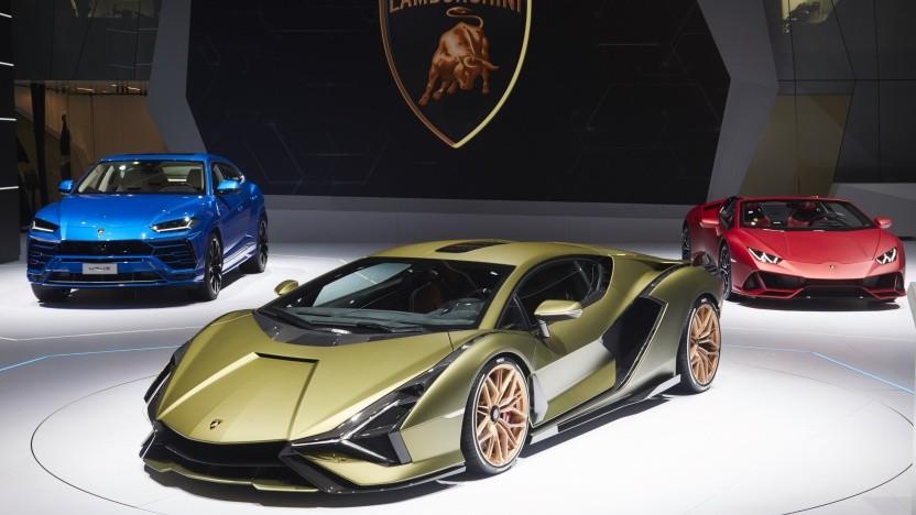Lamborghini präsentiert mit dem Sián den schnellsten jemals gefertigten Sportwagen in der Markenhistorie.