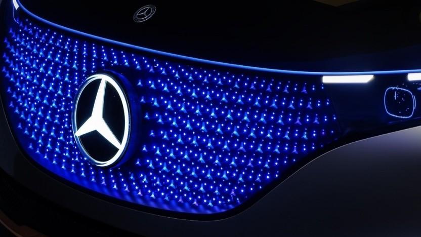 Autos: Mercedes will alle Plattformen elektrisieren - Golem.de