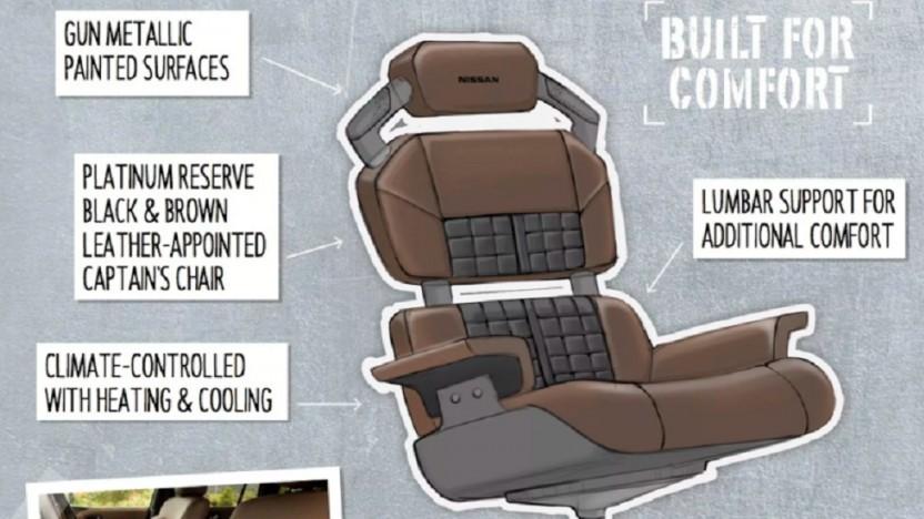 Nissan arbeitet an Konzepten für Gaming-Stühle.