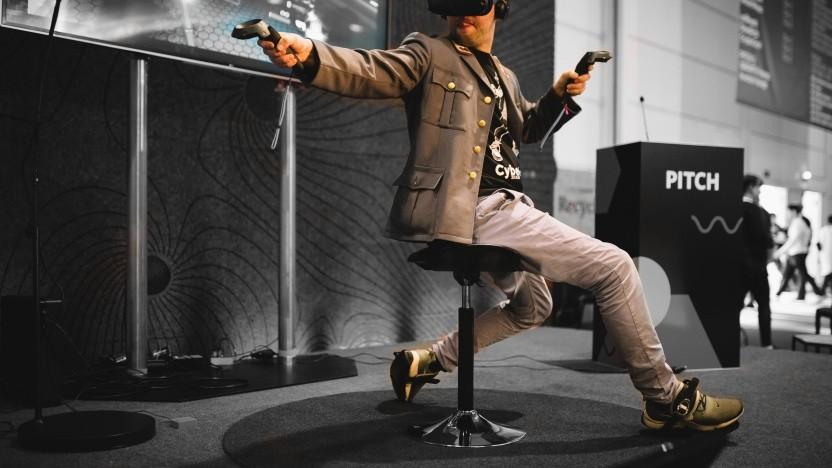 Strampeln in der virtuellen Realität