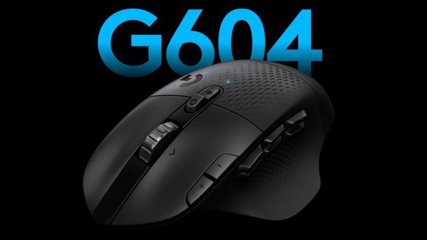 G604 Lightspeed: Logitech aktualisiert MMO-Maus mit Hero-Sensor - Golem.de