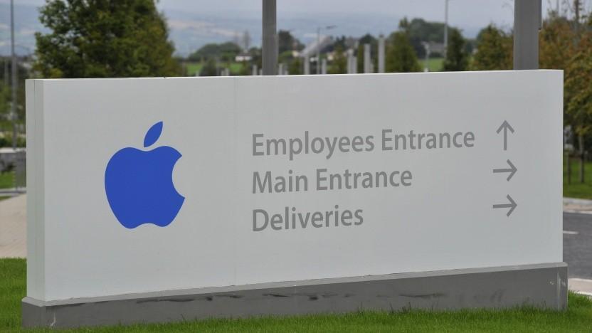 Apples Firmenniederlassung im irischen Cork