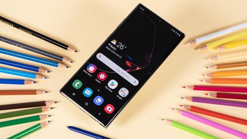 Das Galaxy Note 10+ von Samsung