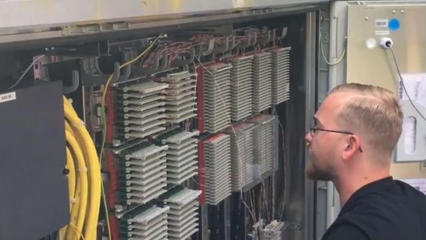 Ausbau der Deutschen Telekom