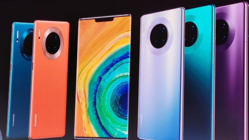 Das neue Mate 30 Pro von Huawei