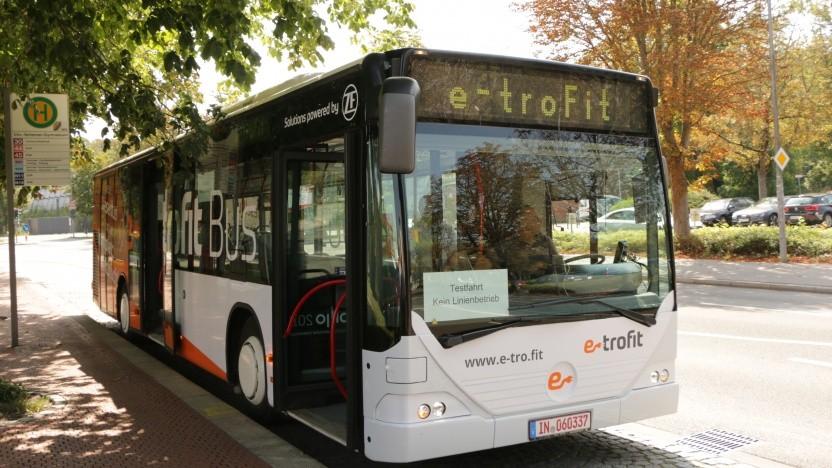 E-Trofit rüstet alte Dieselbusse mit Elektroantrieb aus.