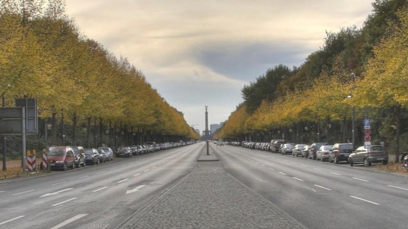Straße des 17. Juni in Berlin