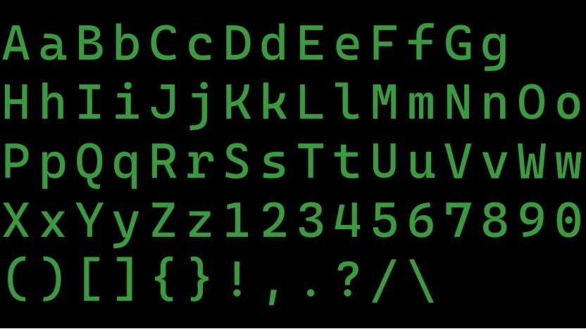 Cascadia Code soll Quelltexte leserlich halten.