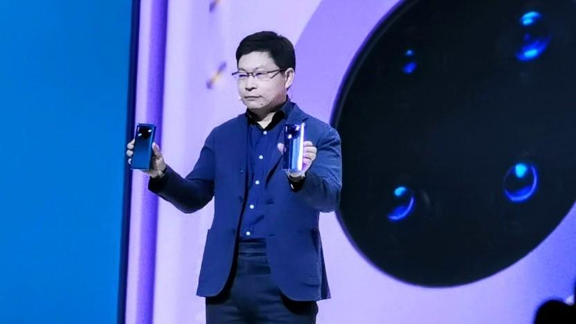 Richard Yu hat das Thema Google auf der Präsentation des Mate 30 Pro komplett umschifft.