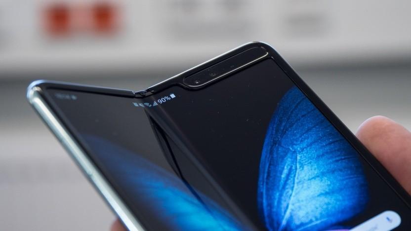 Das Falt-Smartphone Galaxy Fold von Samsung
