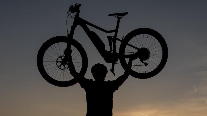 Pedelec-Fahrrad (Symbolbild, beschnitten)