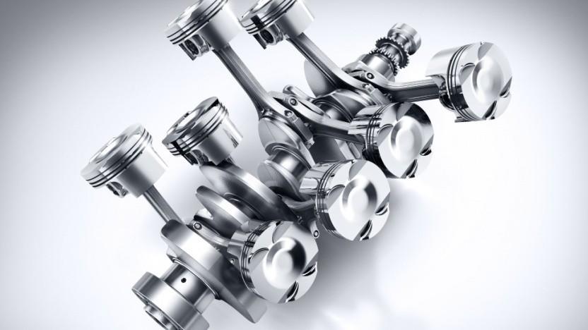 Mercedes-AMG C 63, Kurbeltrieb, AMG 4,0-Liter V8-Biturbomotor, Motorbaureihe M177
