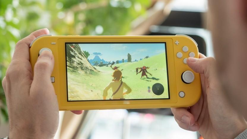 Die Nintendo Switch Lite ist kompakter als das Grundmodell.