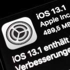 Mobiles Betriebssystem: Apple bringt iOS 13.1 mit Bugfixes und neuen Funktionen