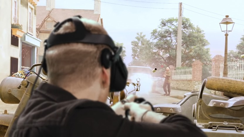 Szene aus Medal of Honor - Beyond and Above in Mixed Reality
