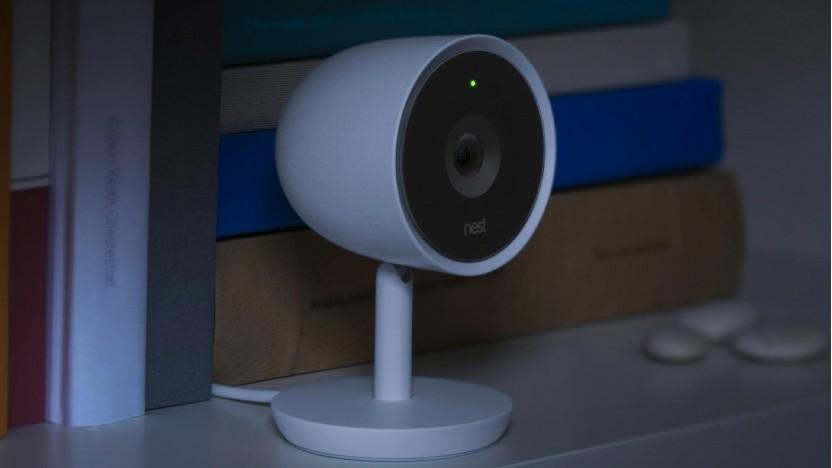 Könnte auch in einem Horrorfilm mitspielen: die Nest Cam.