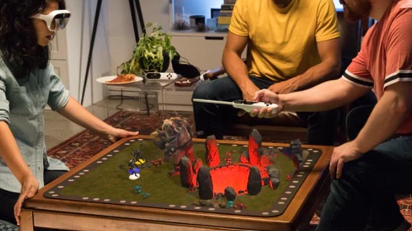 Tilt Five ermöglicht AR-Spiele auf dem Tisch.