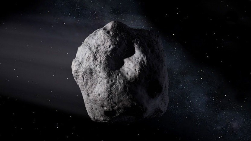 Asteroid (Symbolbild): einfacher hin und einfacher wieder weg